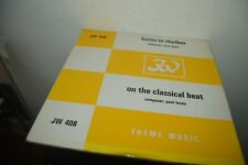 LP JW 408 HORNS IN RHYTM & ON THE CLASSICAL BEAT MUSIC LIBRARY RADIO FILM LEWIS
