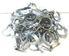 """CHAIN-LINK TENSION BAND W/ CARRIAGE BOLT, 3"""" POST SIZE, 2 7/8"""" OD, LOT OF 72"""