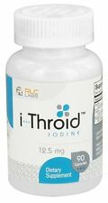 RLC Labs i-Throid (iThroid) -- 12.5 mg - 90 Capsules Compare to Iodoral Iodine