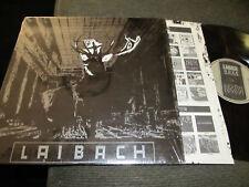 LAIBACH Nova Akropola Vinyl LP NM 1985 waxtrx w/shrink coil current 93 goth rare