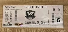2014 Daytona 500 Full Race Ticket Dale Earnhardt Jr Winner
