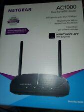 NETGEAR - AC1000 Dual-Band Wi-Fi Router - Black - NIB