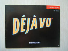 Deja Vu NES Instruction Booklet for Nintendo Manual Only No Game