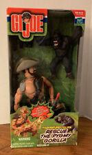 2000 The Adventures Of GI Joe ~ Rescue the Pygmy Gorilla ~ New, Sealed