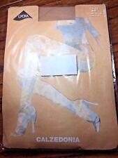 ZARA Calzedonia fashion dotty tights 1/2 (UK8-10), biscuit, brand new