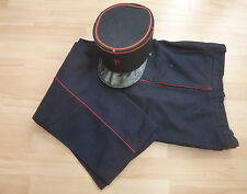Postman Uniform - French Vintage - Kepi hat & trousers / Képi pantalon uniforme