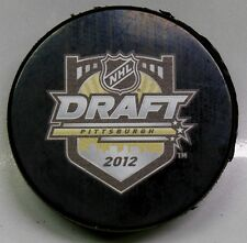 2012 NHL DRAFT HOCKEY PUCK PITTSBURGH 9900233