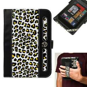 """Leopard Full Coverage Tablet Cover Case For 7"""" Samsung Galaxy J / Lenovo Tab M7"""