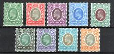 Somaliland  Prot.1905-11 set KEDVII lmmint/MNH excellent lot mcca  [S2004]