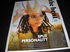 ESPERANZA SPALDING Split Personality detailed 2016 music biz PROMO DISPLAY PAGE