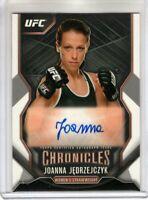 2015 Topps UFC Chronicles Auto JOANNA JEDRZEJCZYK Women's Strawweight AUTOGRAPH