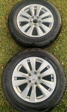 2 X 225/65/17 Bridgestone Duellers On Honda Rims
