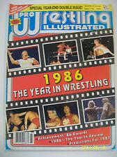 Pro Wrestling Illustrated March 1987/Owner WWE Hall Of Famer Jimmy Valiant