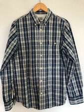 Robbie Roy by ELWOOD Shirt cotton plaid check long sleeve grunge great quality