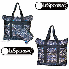 LeSportsac Tassel Dazzle Large Travel Tote + Cosmetic Bag NWT Free Ship Jeweled