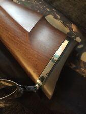 PIASTRA di montaggio a sedere per Cinghia Lucidato Argento fatti per adattarsi a una Weihrauch HW 98