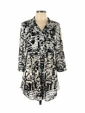 New listing Style&Co Women Black 3/4 Sleeve Blouse L