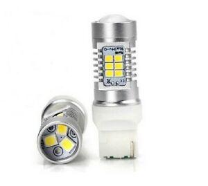 Ampoule T20 LED W21 W 6000K Veilleuse Feux de jour Blanc Lumiere Feux arriere