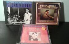 Lot of 3 Glenn Miller CDs: Best of Big Bands, Legendary Performers, Swing