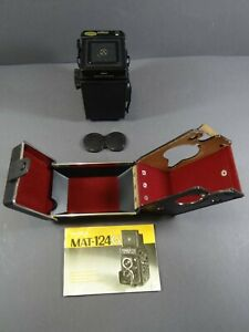 Yashica MAT-124G Mittelformat Spiegelreflex Zwillingsobjektiv  (JK62)