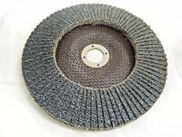 "5/""x7//8/"" Ox SET 10 x Karbosan 125x22mm NK 80 Al CONIC Flap Sanding Disc"