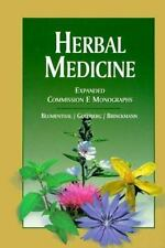 Herbal Medicine: Expanded Commission E Monographs, , Excellent Book