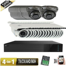 32Ch 1080P Dvr 5Mp 4-in-1 2.8-12mm 9-22mm Varifocal Ip66 Security Camera System