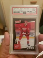 2016 UD National Hockey Dylan Larkins Victory Black rookie PSA 9