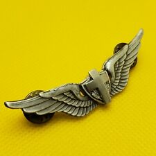 US Army Aviation Chaplain Wing Badge Aviator Helicopter Crew Pin Lapel Insignia