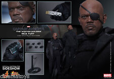 Capitaine America Samuel L. Jackson NICK FURY Action Figure Hot Toys Sideshow