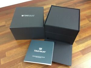Tag Heuer Watch Box + Quartz watches Booklet +  FREE SHIPPING