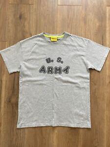 Garbstore Conichiwa Bonjour US Army Military Graphic T-shirt Medium M BNWOT