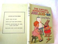 ENID BLYTON Further Adventures of Josie Click and Bun 1974 HC DOROTHY M WHEELER