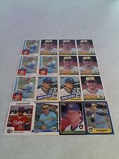 *****Bob Gibson*****  Lot of 42 cards.....10 DIFFERENT / DOB: 6-19-1957