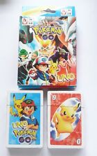 UNO Playing Cards Game Movie POKEMON GO Pack Sealed NEW