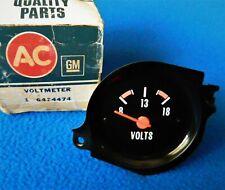 Nos GM Truck Voltmeter Gauge Instrument Cluster Chevy GMC 77 78 79 80 81 82 87
