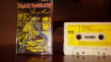 IRON MAIDEN PIECE OF MIND CASSETTE  TAPE CINTA TESTADA(EMI 1983)