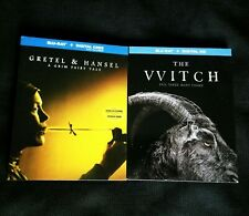 GRETEL & HANSEL + THE WITCH Blu-ray/Digital HD NEW + FREE SHIP!! Horror #Witches