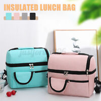 Insulated Lunch Bag Leakproof Thermal Bento Cooler Tote for Women Men Kids US u