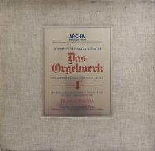 BACH - Das Orgelwerk/Organ Works Volume 1 (Helmut Walcha) (8 x LP Box Set) (VG/G