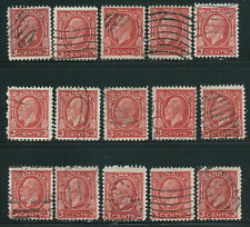 Canada #197(3) 1932 3 cent deep red KING GEORGE V 15 Used CV$3.75