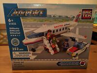 Private Jet Airport BricTek Construction Building Block Brick Toy 21522 Bric Tek
