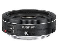 NEW Canon EF 40mm f/2.8 STM Lens Pancake Black