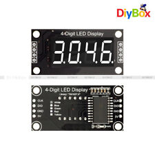 036 Tm1637 7 Segment 4 Digit White Digital Tube Led Display Module For Arduino