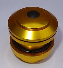 "Neco Bmx,MTB or Scooter 1 1/8"" Threadless Headset, Gold"