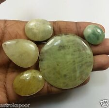 67.65 CT Green Aquamarine 5 Pcs Natural Awesome Quality Wholesale Lot Gem W962