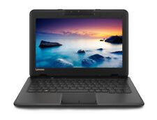 "Lenovo 100e Chromebook 11.6"" (64GB, Intel Celeron N, 2.40 GHz, 4GB) Laptop - Black - 81CY002MUK"