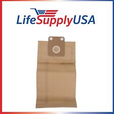 5 Packs of 5 (25 count) Vacuum Bags for Nilfisk Advance HDS1005 fit 82222900