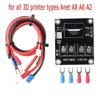 MOS Module Power Kabel Heat Bed U-shaped Terminals Für Anet A8 A6 A2 3D Drucker