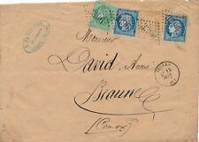 Lettre n°53,55,60 Seurre Cote D'or pour Beaune Cover